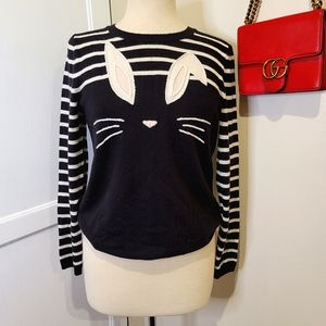 KATE SPADE/ BROOME ST Bunny wool pullover size M